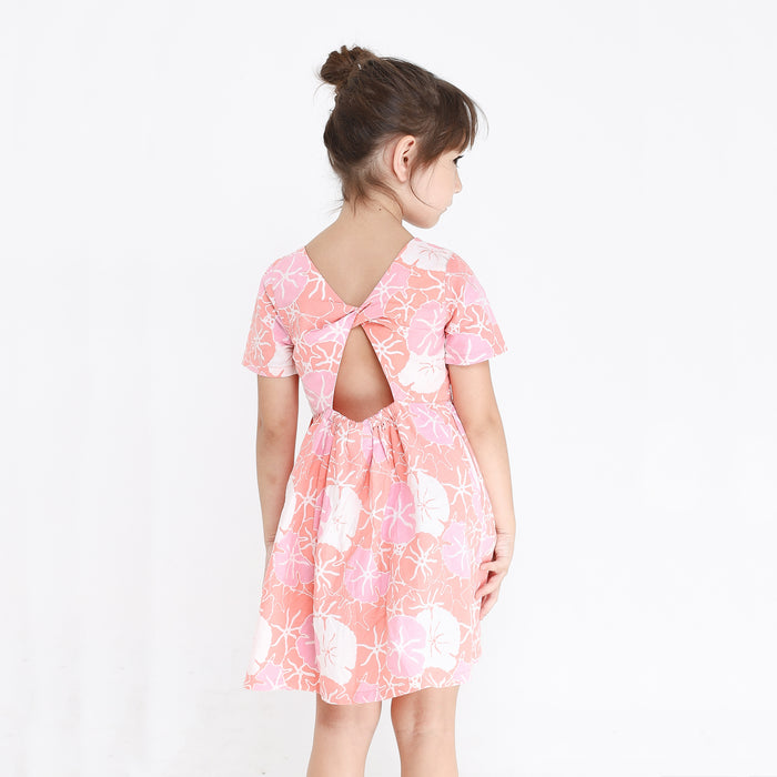 Glenda Dress - Lotus Flower