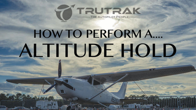 How to perform an Altitude Hold.