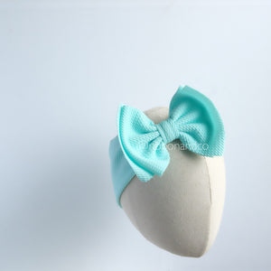 Ashley Bow Medium Light Blue