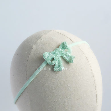 ribbon crystal mint