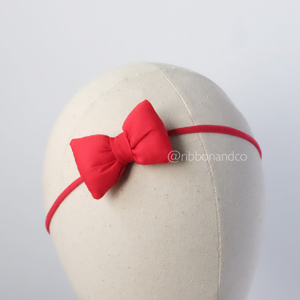 Mini pillow red