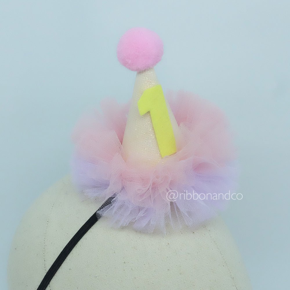 Mini Party Hat Double Layer Tulle