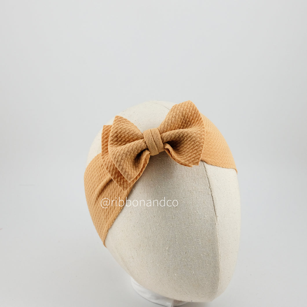 Ashley Bow Mini Khaki