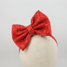 Sigma Red Bow