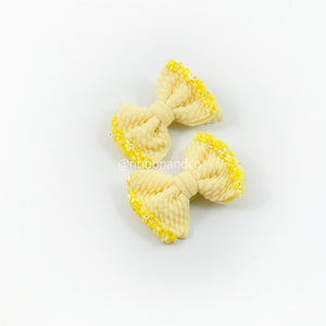 Nano Ashley Clip Crystal Yellow