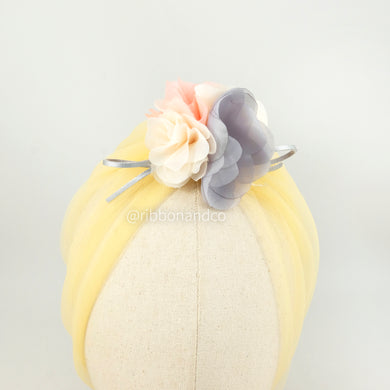 Turban Tulle Yellow