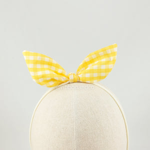 Bunny Yellow Gingham