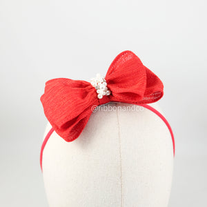 Arcilla Medium Bow Red