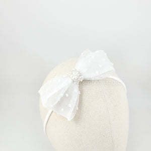 Raline Bow White