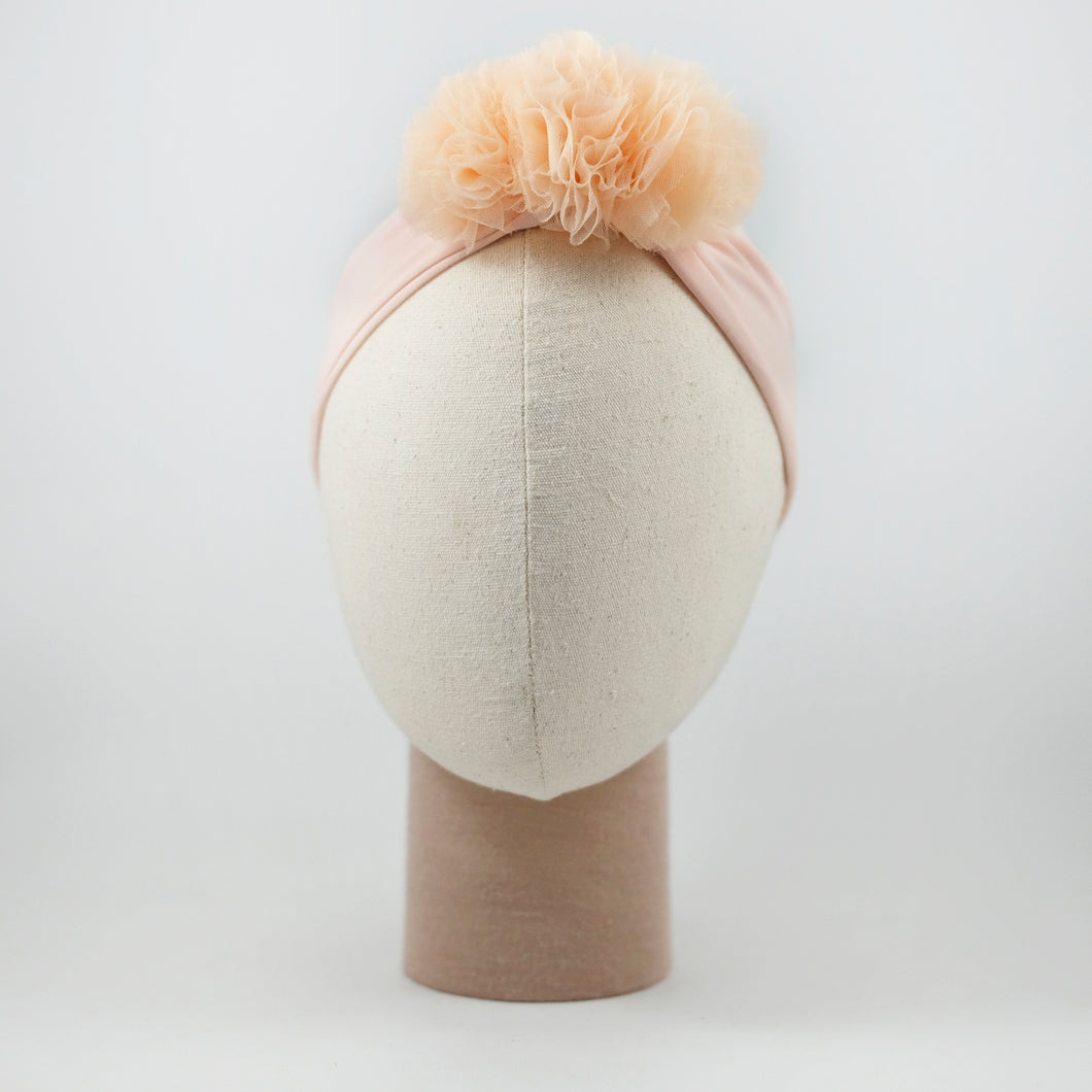 Pompom Band In Nude