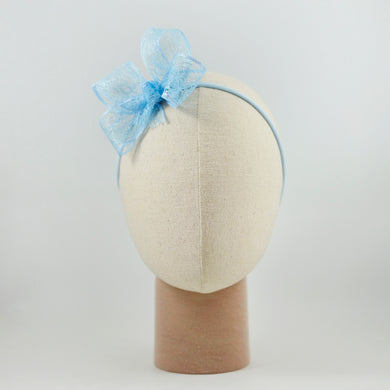 Hard Loxia Bow In Light Blue
