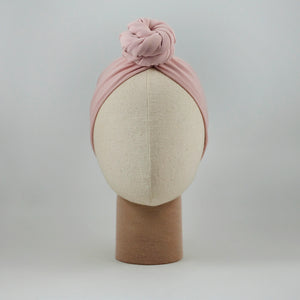 Donut Braid Headband Mauve