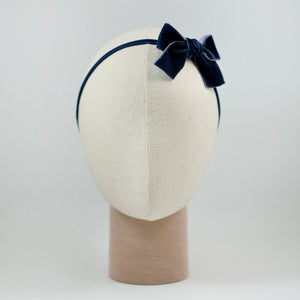 Ribbon Kakee Velvet In Navy