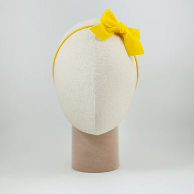 Ribbon Kakee Velvet Yellow
