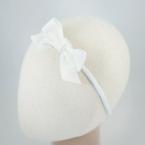 Ribbon Kakee Velvet White