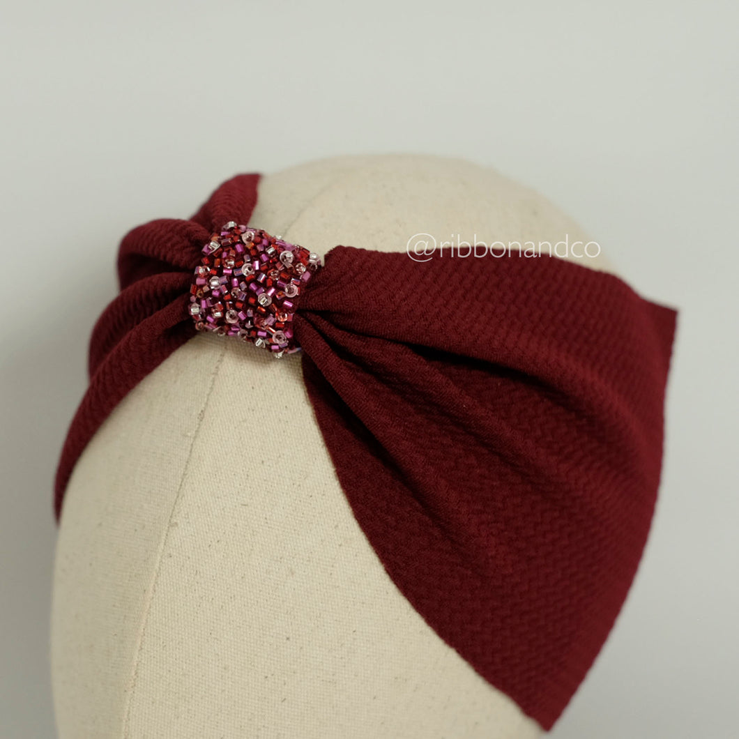 Tulip Wrap Crystal Red