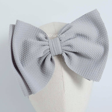 Ashley Bow Big Grey