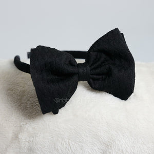 Ashley Bow Black Medium Bando