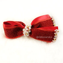 Seraphime Red Clip/Nylon Headband