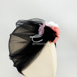 Turban Tulle Black