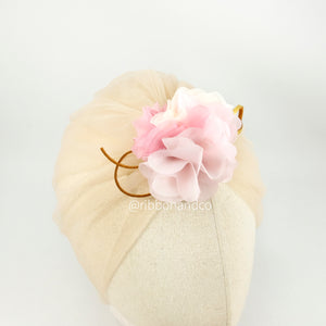Turban Tulle Blush
