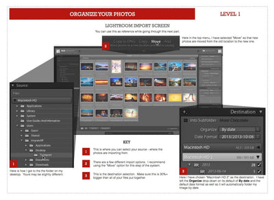 Organize Your Photos - The Three Level System (eBook)