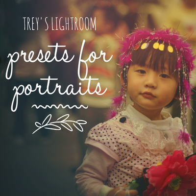 Trey's Lightroom Presets - People