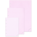 Notizpapier in rosa 50 Blatt Piccolo Junior DIN A5 mit Perforation