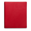 Ringbuch Rindleder Kirschrot Simply Red 1