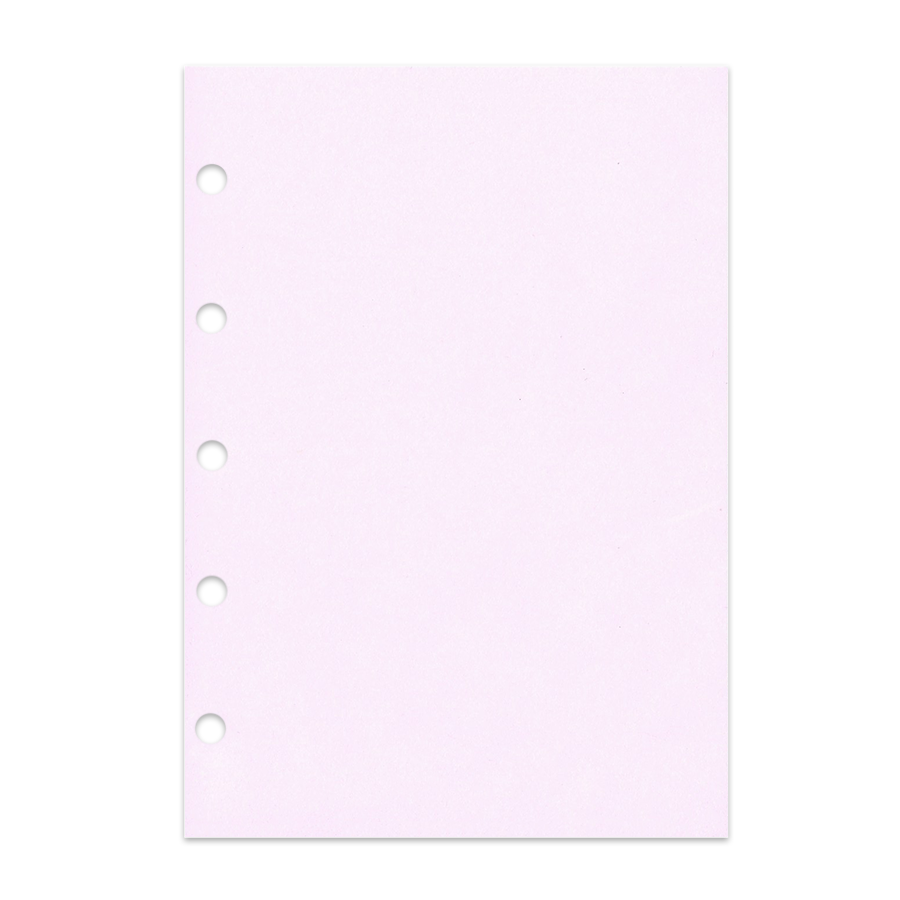 Notizpapier in rosa 50 Blatt ohne Perforation Piccolo Junior DIN A5