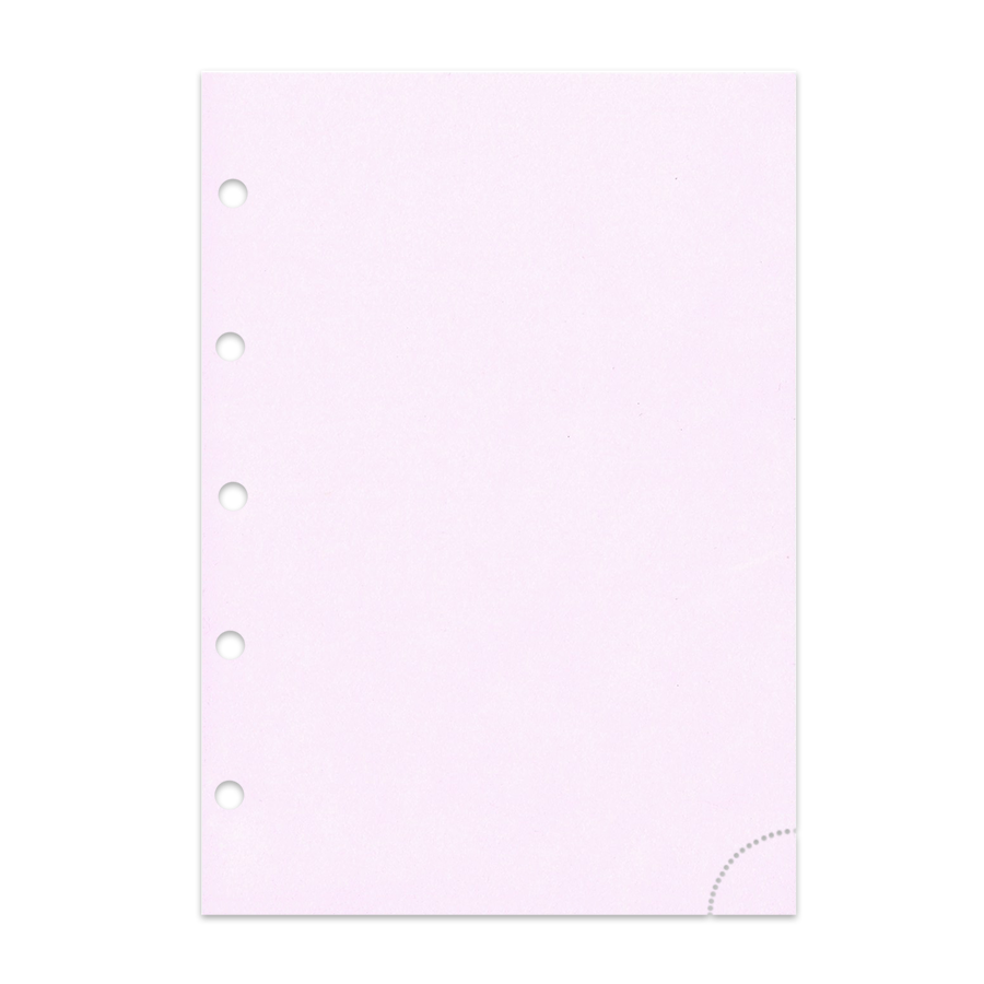 Notizpapier in rosa mit Perforation 50 Blatt Piccolo Junior DIN A5