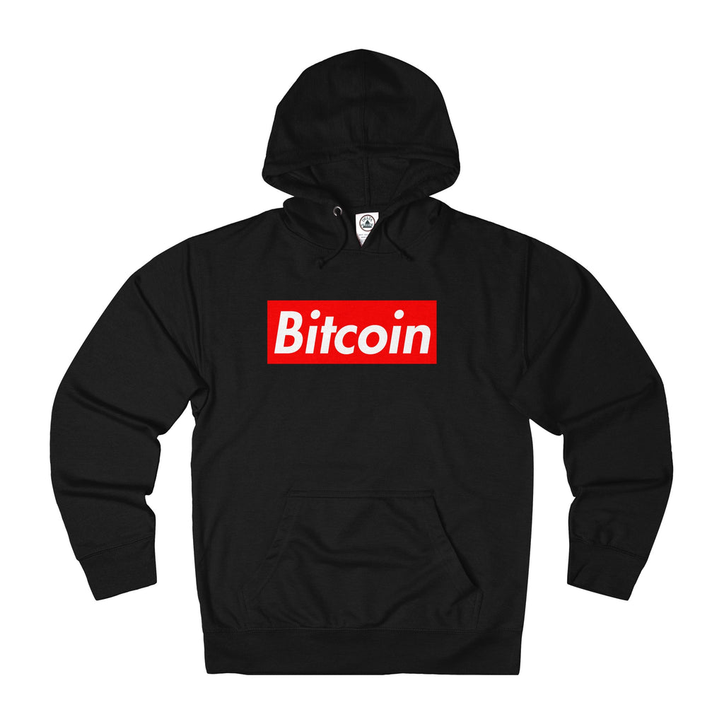 Bitcoin Hypebeast Adult Unisex French Terry Hoodie