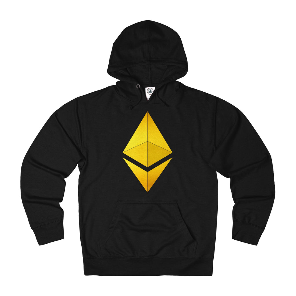 Ethereum 24K of Gold French Terry Hoodie