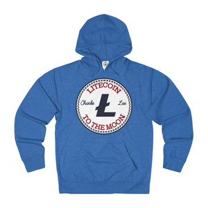 Litecoin All Star Adult Unisex French Terry Hoodie