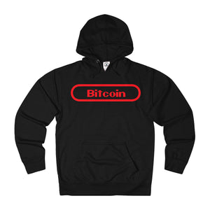 Bitcoin Gamer Adult Unisex French Terry Hoodie