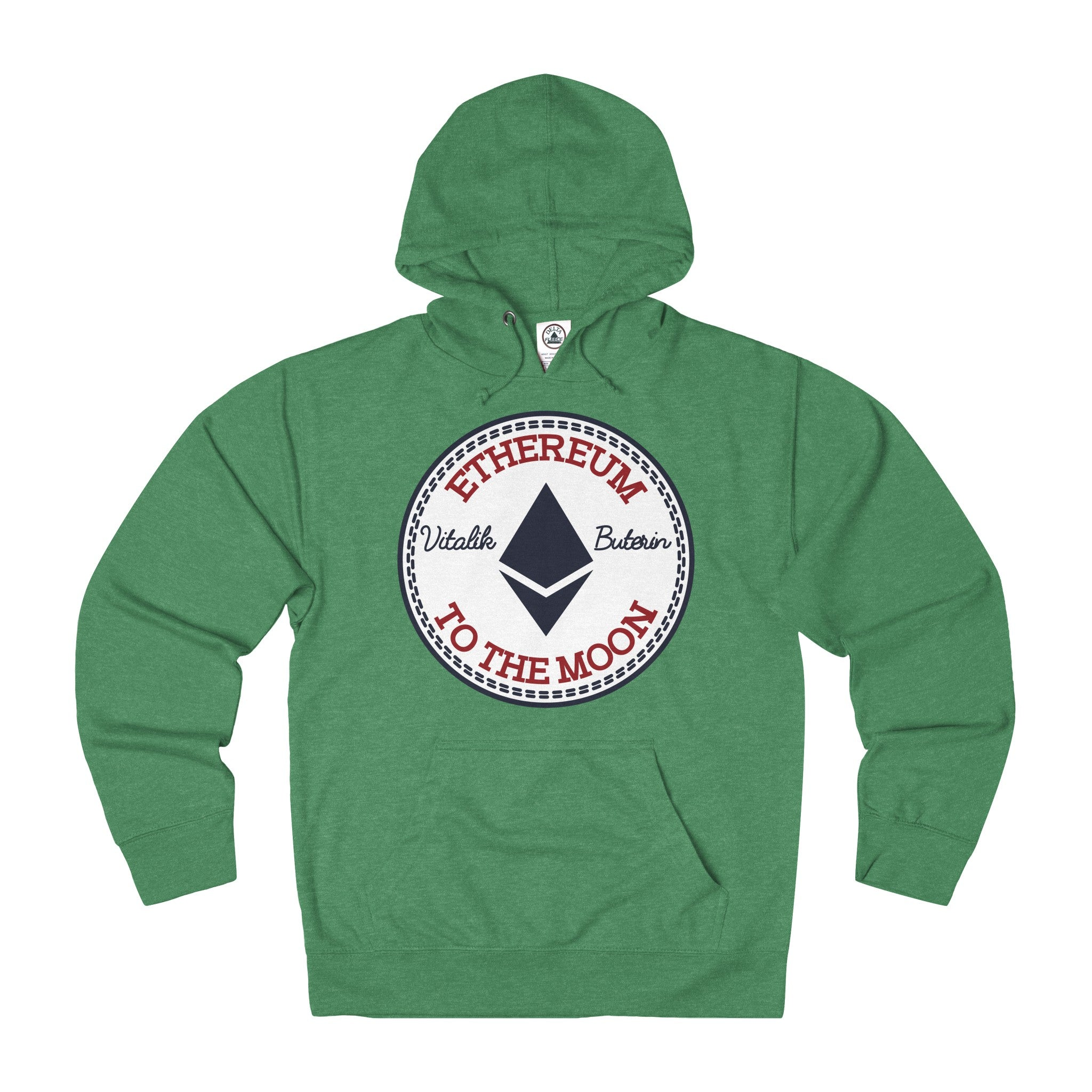 Ethereum All-Star Adult Unisex French Terry Hoodie