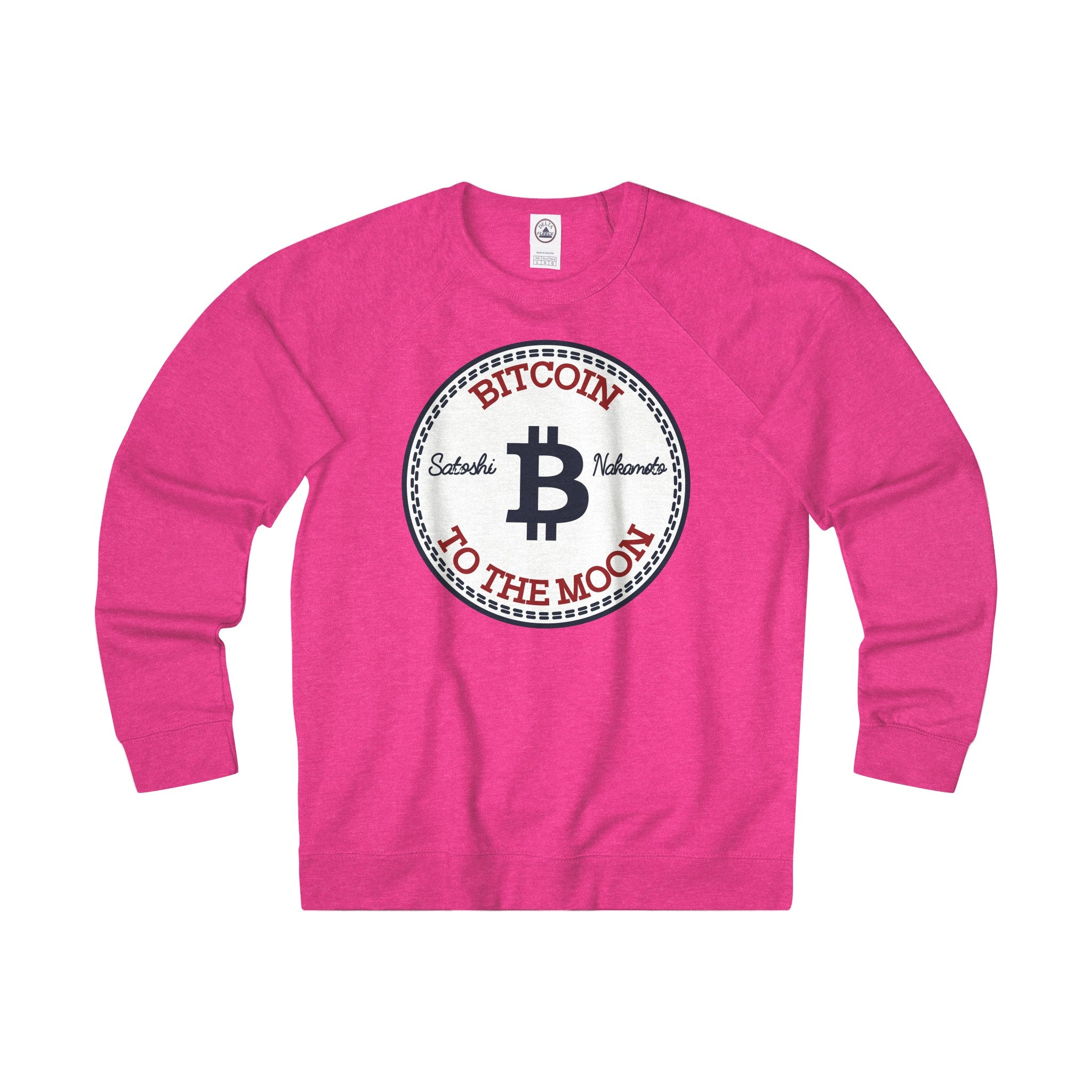 Bitcoin All-Star Adult Unisex French Terry Crew