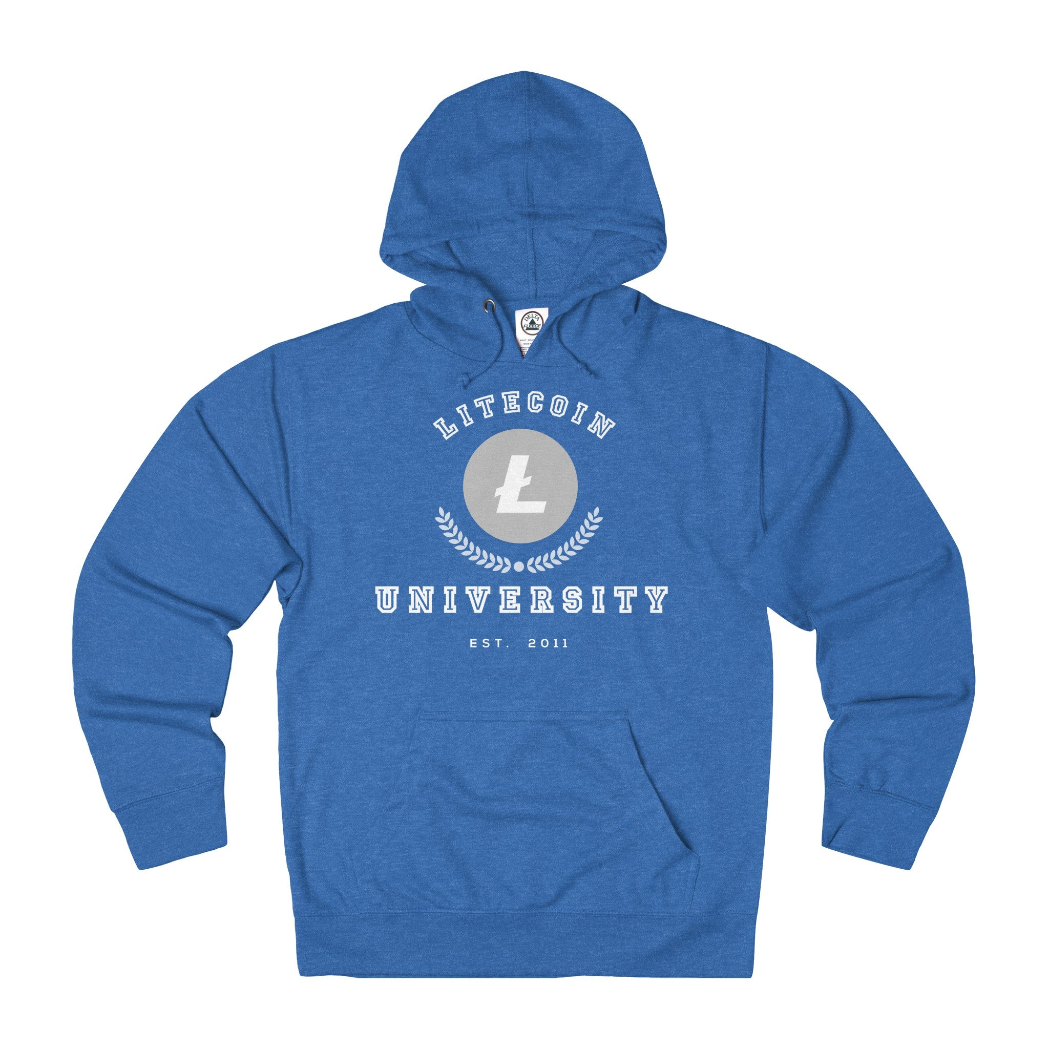Litecoin University Adult Unisex French Terry Hoodie