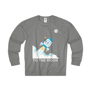 Ethereum To The Moon! Adult Unisex French Terry Crew