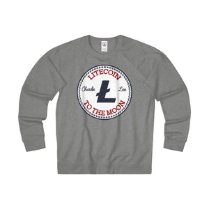 Litecoin All Star Adult Unisex French Terry Crew