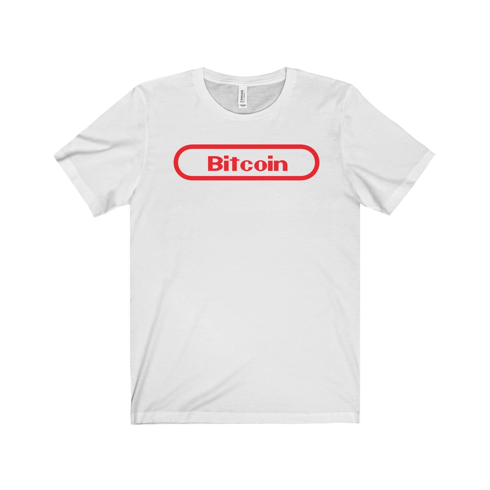Bitcoin Gamer Unisex Jersey Short Sleeve Tee