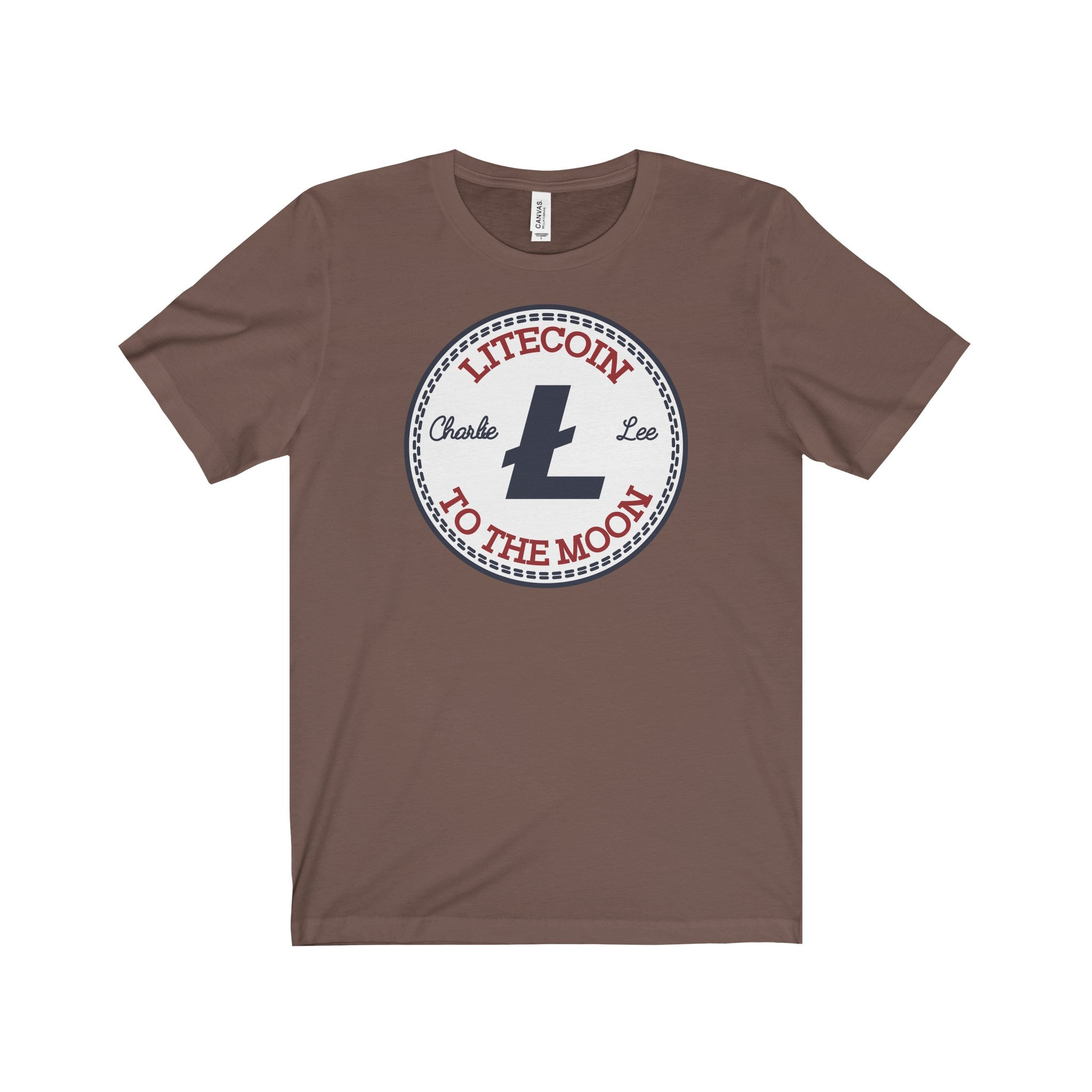 Litecoin All Star Unisex Jersey Short Sleeve Tee