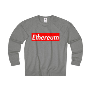 Ethereum Hypebeast Adult Unisex French Terry Crew