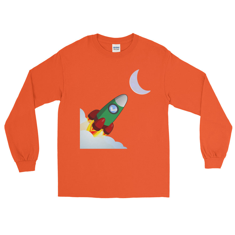 Vertcoin To The Moon Long Sleeve T-Shirt