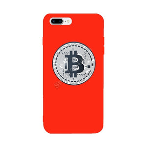 Bitcoin Cryptocurrency Crypto For Iphone X Case Soft TPU Colorful Personalized Ultra-thin Glaze  For Iphone 6S 6 7 8 Plus Case