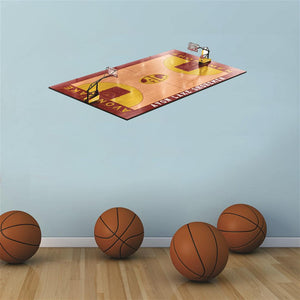 Avon Lake Shoremen 3D Basketball Court