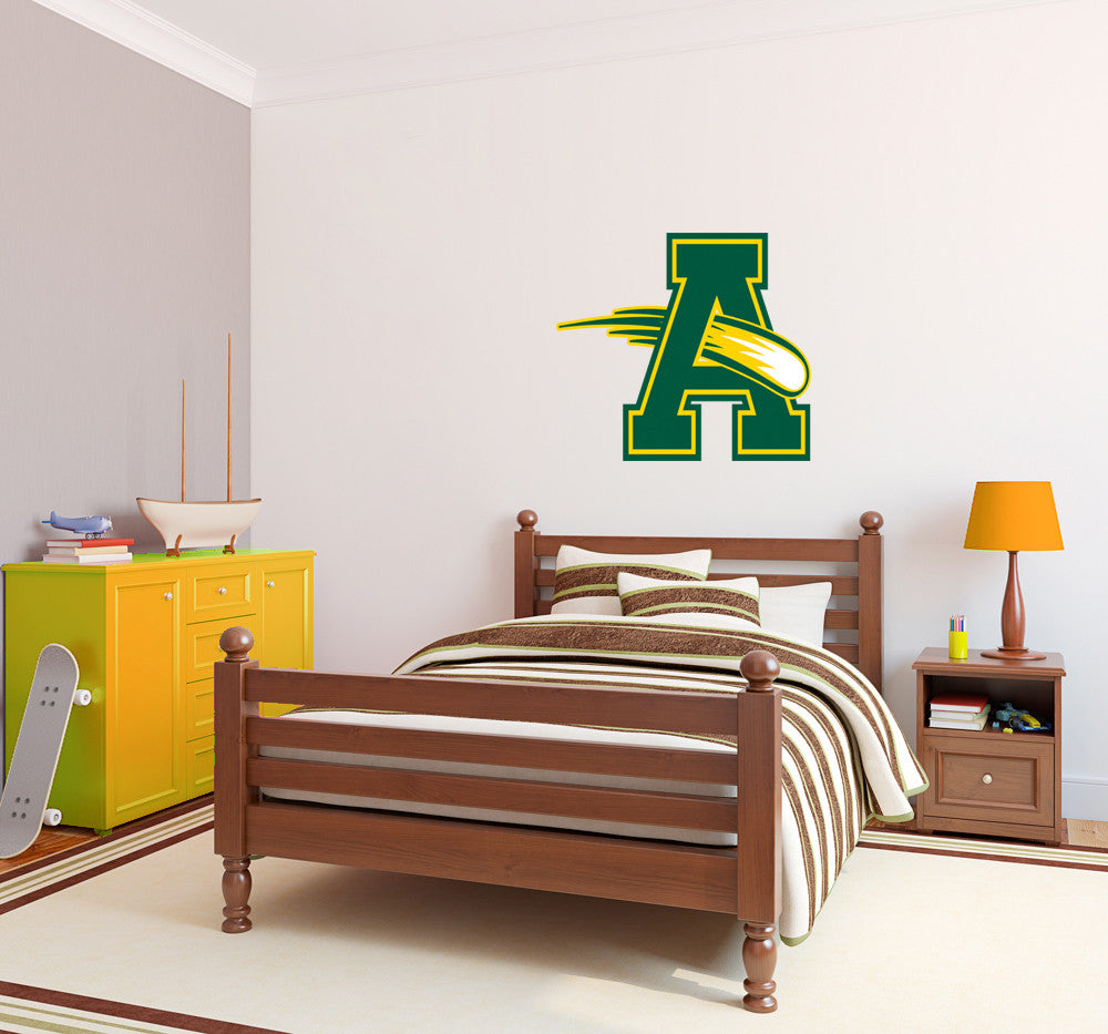 Amherst Comets Wall Mascot™