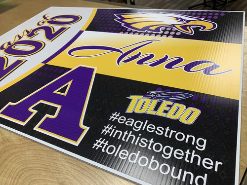Avon Class of 2020 Yard Sign FREE DELIVERY