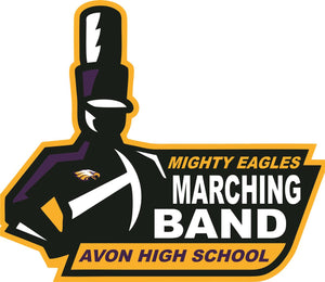 Avon Mighty Eagles Marching Band Wall Mascot™