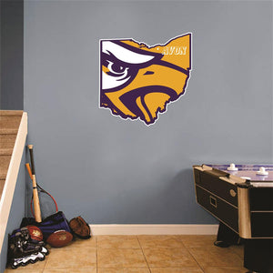 Avon Eagles Ohio Wall Mascot™ Version 2